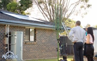Energy Efficient Home with Solar Hot Water System