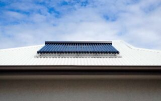 Apricus Solar Hot Water System On Roof