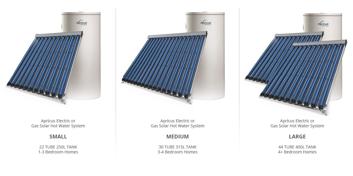 Apricus Solar Ready Hot Water Systems