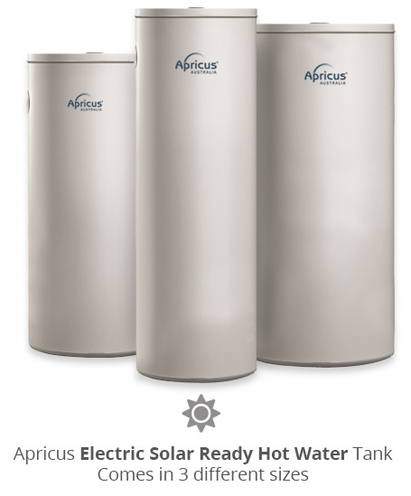 Solar Electric Hot Water Tanks